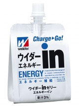 東日本大震災時にも活躍した森永製菓の『ウイダーinゼリー エネルギーイン』(賞味期限10ヶ月)