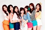 T-ARA(左から)ファヨン、ウンジョン、キュリ、ボラム、ソヨン、ジヨン、ヒョミン
