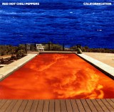 タワーレコードの円高還元セール対象となる『輸入盤千円生活』シリーズの一例(Red Hot Chili Peppers『Californication』)