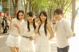 映画『モテキ』でダンス共演したPerfume&森山未來