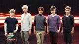 『BODY HEATER』の新CMに出演するAAAの男性メンバー(左から末吉秀太、浦田直也、西島隆弘、日高光啓、與真司郎)