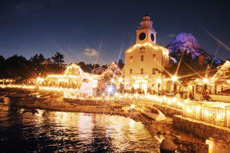 東京ディズニーリゾートがクリスマス企画を発表(写真は昨年のTDSイルミネーション) (C)Disney