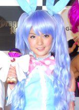 オンラインゲーム『Dragon Nest』の新キャラクター「ハロリ」の発表会に出席したモーニング娘。の道重さゆみ (C)ORICON DD inc.