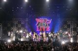 アニソンイベント『あにてれPresents アニソンぷらすLIVE』の出演者で決めポーズ!