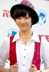 オートバイイベント『Fun to Ride!Meeting 2011』に出席したAKB48・宮澤佐江 (C)ORICON DD inc.