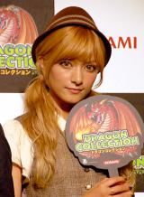 KONAMIソーシャルゲーム『ドラゴンコレクション』プレス発表\会に出席したローラ (C)ORICON DD inc.