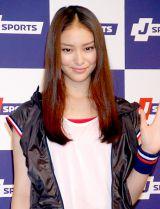 スポーツテレビ局「J SPORTS」のイメージキャラクターに起用された武井咲 (C)ORICON DD inc.