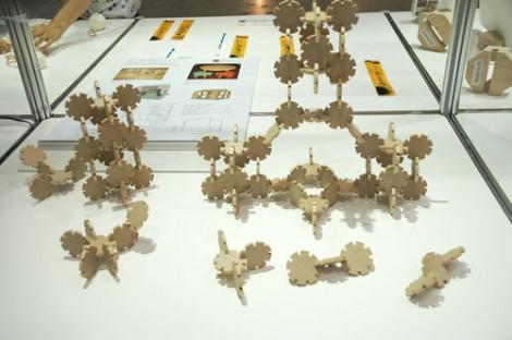 『Area Aid Design Project 東北・茨城デザインプロモーション』ブースに展示されている、沢田創造研究所(福島県いわき市)エンピース (C)ORICON DD inc.