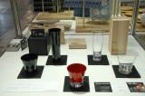 『Area Aid Design Project 東北・茨城デザインプロモーション』ブースに展示されている、ワイヤードビーンズ(宮城県仙台市)生涯を添い遂げるグラス (C)ORICON DD inc.