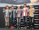 SHINee(写真左からオンユ、ジョンヒョン、テミン、ミンホ、キー)(C)ORICON DD inc.