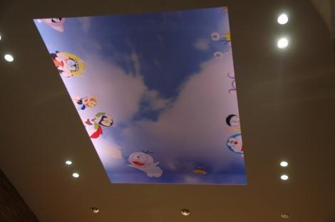 エントランス天井