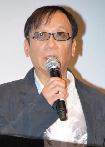 シリーズ最新作『ドラゴンクエスト X 目覚めし五つの種族 オンライン』を発表した堀井雄二氏 (C)ORICON DD inc.