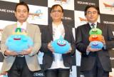 (左から)プロデューサーの斉藤洋介氏、堀井氏、ディレクターの藤澤仁氏 (C)ORICON DD inc.