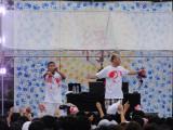 被災地の仙台の高校で学園祭ライブを行ったDef Tech