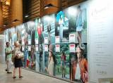 有楽町マリオン内に設置された『ルミネ有楽町店』の広告