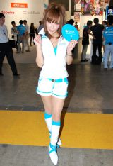 『東京ゲームショウ 2011』に参加したイベントコンパニオン (C)ORICON DD inc.