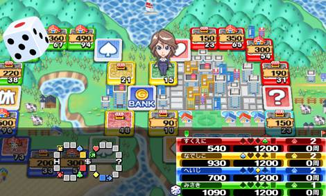 『SQUARE ENIX MARKET』で配信予定の『いただきストリート Smartphone(仮)』 (C)ARMOR PROJECT /SQUARE ENIX All Rights Reserved.