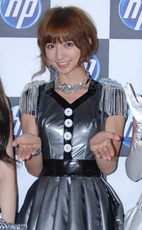 『日本HP feat.AKB48』新CM撮影を行ったAKB48・篠田麻里子 (C)ORICON DD inc.