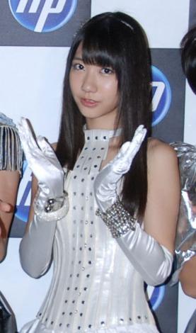 『日本HP feat.AKB48』新CM撮影を行ったAKB48・柏木由紀 (C)ORICON DD inc.