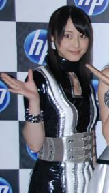 『日本HP feat.AKB48』新CM撮影を行ったAKB48・松井玲奈 (C)ORICON DD inc.