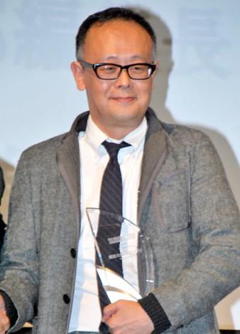 『第2回雑誌大賞』でグランプリを獲得した『BRUTUS』の編集長・西田善太氏 (C)ORICON DD inc.