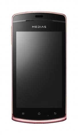 29日、ソフトバンクが発表した秋冬製品『MEDIAS CH 101N』