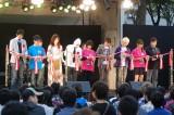 第1回NHK・民放連共同ラジオキャンペーン『はじめまして、ラジオです。』のオープニングセレモニーの様子 (C)ORICON DD inc.
