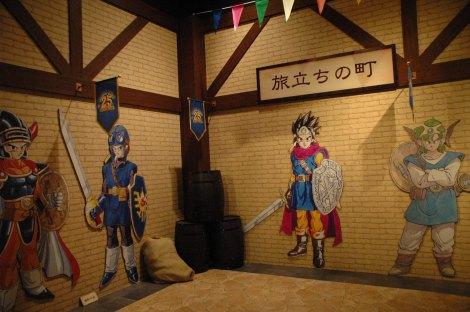 テレビゲーム史上初の本格的展覧会『ドラゴンクエスト展』館内の様子 (C)ORICON DD inc.