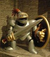 テレビゲーム史上初の本格的展覧会『ドラゴンクエスト展』、第1章「勇者の大地」にさまようよろいがあらわれた (C)ORICON DD inc.