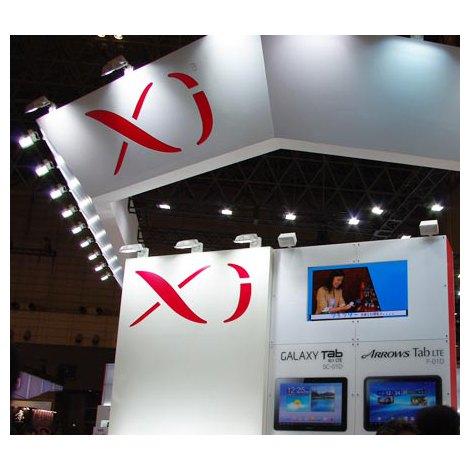 【CEATEC】ドコモブースにて未発表の「Xi」対応スマートフォンが参考出展