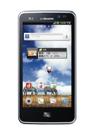 「Xi」(クロッシィ)対応のスマートフォン『docomo NEXT series Optimus LTE L-01D』(12月発売予定)