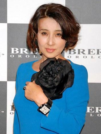 イタリアの時計ブランド『ブレラ オロロジ』日本上陸記念パーティーに来場した秋吉久美子 (C)ORICON DD inc.