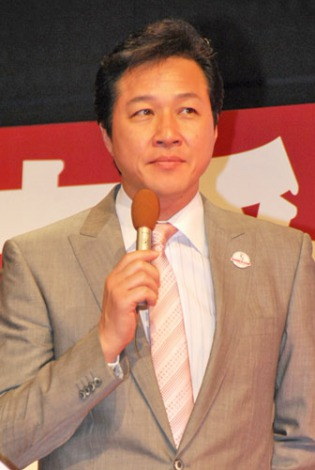 『ワールドカップバレーボール2011』記者発表会に出席した、川合俊一 (C)ORICON DD inc.