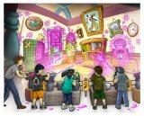 2012年秋オープン予定のTDL新アトラクション『グーフィーのペイント&プレイハウス』イメージ (C)Disney