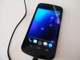 日本では11月発売予定のAndroid4.0を搭載モデル『Galaxy Nexus』 (C)ORICON DD inc.