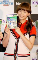 Xbox 360 Kinect専用『Kinect スポーツ:シーズン2』発売記念イベントに出席した藤本美貴 (C)ORICON DD inc.