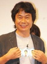 10位に選ばれたのは、人気ゲーム『マリオ』シリーズなどを手掛けたゲームクリエイターの宮本茂氏
