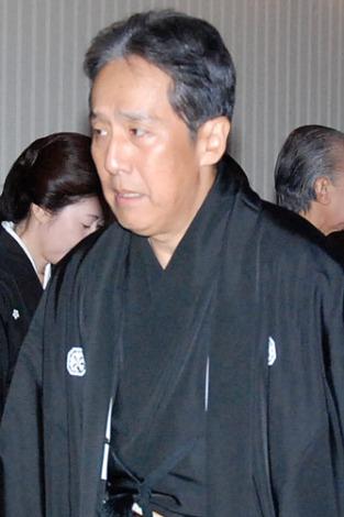 歌舞伎俳優・中村芝翫さんの葬儀告別式に参列した、中村勘三郎 (C)ORICON DD inc.