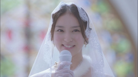 セキスイハイム『ウエディングドレス』篇、CMカット