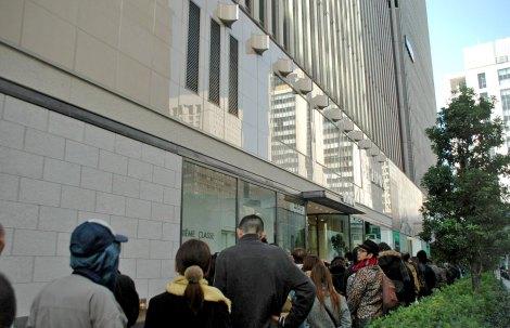 5000人の行列を作ったルミネ有楽町店 (C)ORICON DD inc.