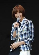AKB48の12月発売シングルは初センター・篠田麻里子の名を冠した「上からマリコ」に決定(29日=東京・味の素スタジアム)
