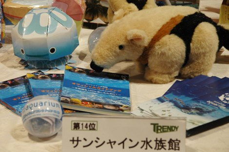 『日経トレンディ』が選ぶ『ヒット商品ベスト30』14位に選ばれたサンシャイン水族館 (C)ORICON DD inc.