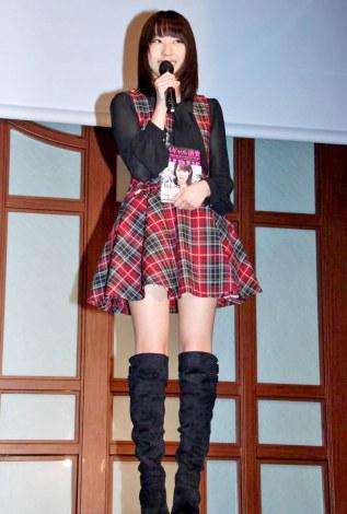 月刊誌『日経トレンディ』主催『2011年ヒット商品ベスト30』発表会に出席したAKB48・藤江れいな (C)ORICON DD inc.
