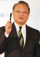 『万年筆ベストコーディネイト賞2011』を受賞した伊東四朗 (C)ORICON DD inc.