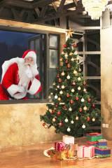 サンタクロースを写真に合成することができるアプリ『SantaCollage』