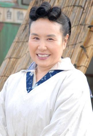 NHK連続テレビ小説『梅ちゃん先生』のクランクイン会見に出席した大島蓉子 (C)ORICON DD inc.