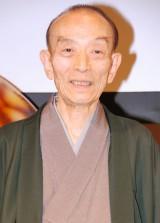 一般財団法人『日本呼吸器財団』設立記念プレスセミナーに出席した桂歌丸 (C)ORICON DD inc.