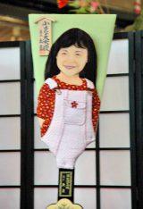 2011年の『変わり羽子板』10点お披露目 ※写真は、芦田愛菜 (C)ORICON DD inc.