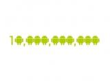Android Marketが総ダウンロード数100億件を突破した。