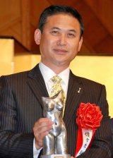 2011年『ゆうもあ大賞』を受賞したなでしこジャパン・佐々木則夫監督 (C)ORICON DD inc.